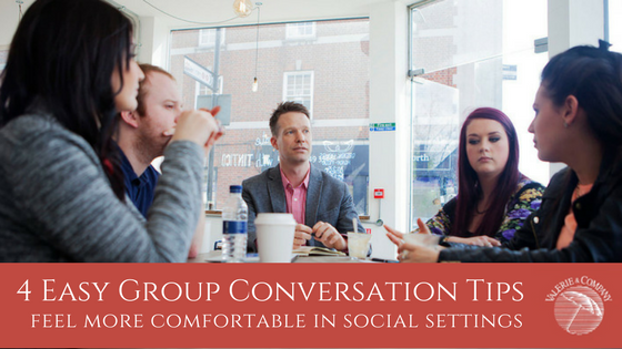 4 Easy Group Conversation Tips